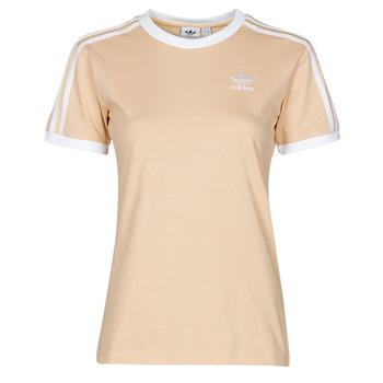 Îmbracaminte Femei Tricouri mânecă scurtă adidas Originals 3 STRIPES TEE Portocaliu