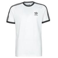 Îmbracaminte Bărbați Tricouri mânecă scurtă adidas Originals 3-STRIPES TEE Alb