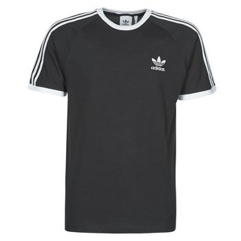 Îmbracaminte Bărbați Tricouri mânecă scurtă adidas Originals 3-STRIPES TEE Negru