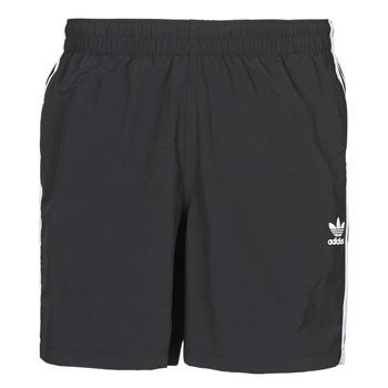Îmbracaminte Bărbați Maiouri și Shorturi de baie adidas Originals 3-STRIPE SWIMS Negru