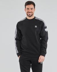 Îmbracaminte Bărbați Hanorace  adidas Originals 3D TF 3 STRP CR Negru