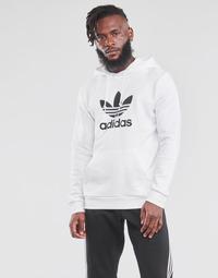 Îmbracaminte Bărbați Hanorace  adidas Originals TREFOIL HOODIE Alb