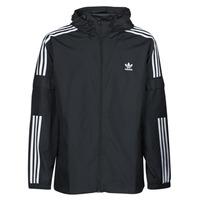 Îmbracaminte Bărbați Jacheta de vânt adidas Originals 3-STRIPES WB FZ Negru