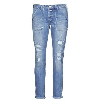 Îmbracaminte Femei Jeans boyfriend Le Temps des Cerises CARA Albastru