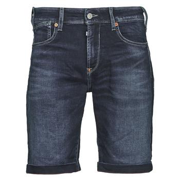 Îmbracaminte Bărbați Pantaloni scurti și Bermuda Le Temps des Cerises JOGG BERMUDA Albastru / Negru