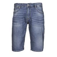 Îmbracaminte Bărbați Pantaloni scurti și Bermuda Le Temps des Cerises JOGG BERMUDA Albastru