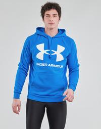 Îmbracaminte Bărbați Hanorace  Under Armour UA RIVAL FLEECE BIG LOGO HD Albastru