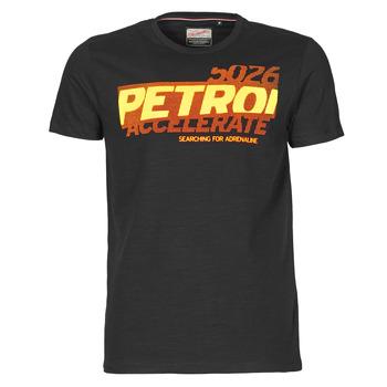 Îmbracaminte Bărbați Tricouri mânecă scurtă Petrol Industries T-SHIRT SS R-NECK F Negru