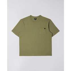 Îmbracaminte Bărbați Tricouri mânecă scurtă Edwin T-shirt  Oversized vert kaki