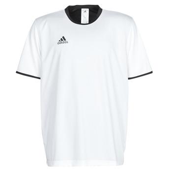 Îmbracaminte Bărbați Tricouri mânecă scurtă adidas Performance TAN REV JSY Alb