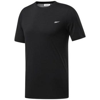 Îmbracaminte Bărbați Tricouri mânecă scurtă Reebok Sport Wor Comm Tech Tee Negre