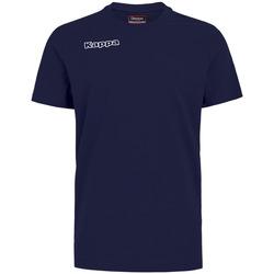 Îmbracaminte Băieți Tricouri & Tricouri Polo Kappa T-shirt enfant  Tee bleu royal
