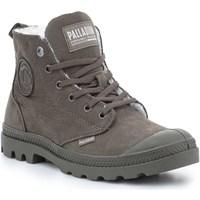 Pantofi Femei Ghete Palladium Pampa HI Zip WL 95982-213-M brown
