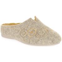 Pantofi Femei Papuci de casă Emanuela 1527 GIALLO DOU Giallo