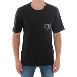 Îmbracaminte Bărbați Tricouri mânecă scurtă Calvin Klein Jeans J30J309612 099 BLACK Negro