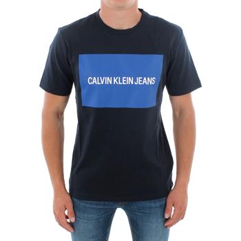 Îmbracaminte Bărbați Tricouri mânecă scurtă Calvin Klein Jeans J30J307850 904 NAVY Azul marino