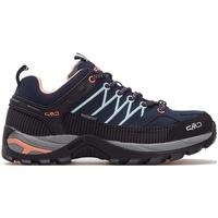 Pantofi Femei Trail și running Cmp Rigel Wmn WP Negre, Gri, Albastru marim