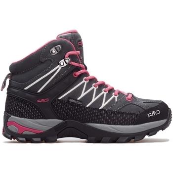 Pantofi Femei Pantofi sport stil gheata Cmp Rigel Mid Wmn WP Gri, Roz, Grafit