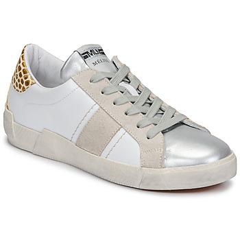 Pantofi Femei Pantofi sport Casual Meline NK1381 Alb / Bej