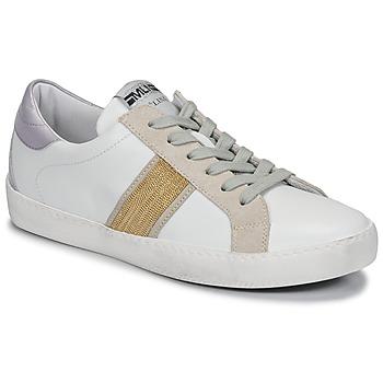 Pantofi Femei Pantofi sport Casual Meline KUC1414 Alb / Auriu