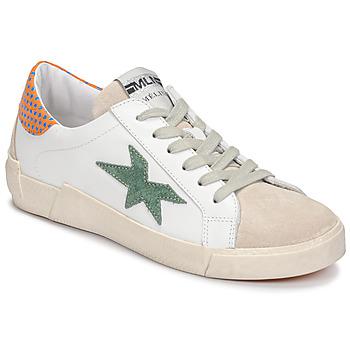 Pantofi Femei Pantofi sport Casual Meline NK1364 Alb / Verde