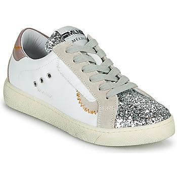 Pantofi Femei Pantofi sport Casual Meline CAR139 Alb / Glitter