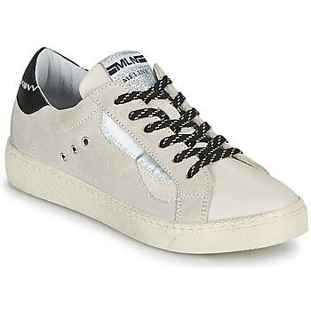 Pantofi Femei Pantofi sport Casual Meline CAR139 Bej / Negru