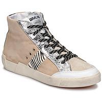 Pantofi Femei Pantofi sport Casual Meline NK1384 Bej / Zebra