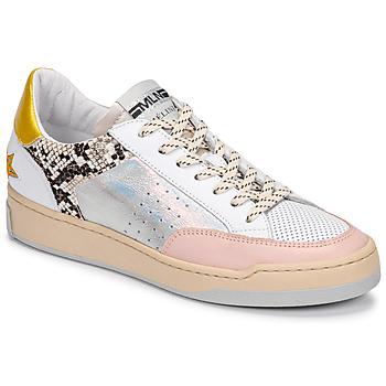 Pantofi Femei Pantofi sport Casual Meline BZ180 Alb / Roz