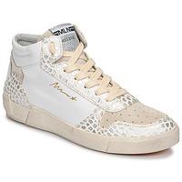 Pantofi Femei Pantofi sport stil gheata Meline NK1409 Alb / Croco
