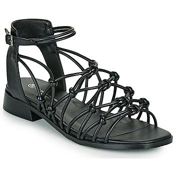 Pantofi Femei Sandale  The Divine Factory LS1793H Negru