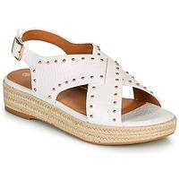 Pantofi Femei Sandale  The Divine Factory LS1802J Alb