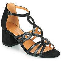 Pantofi Femei Sandale  The Divine Factory QL4327 Negru