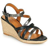 Pantofi Femei Sandale  The Divine Factory QL4354 Negru