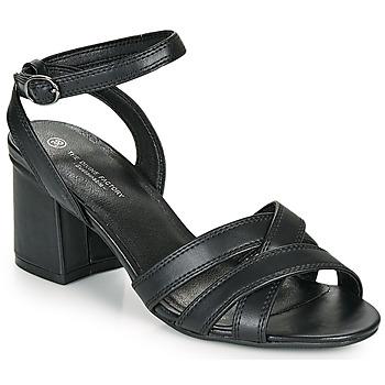 Pantofi Femei Sandale  The Divine Factory LS2115 Negru