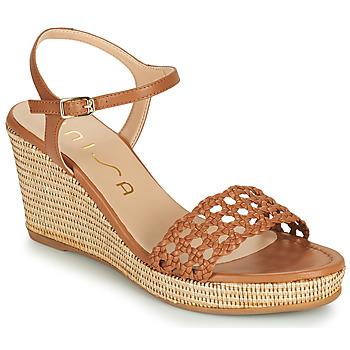 Pantofi Femei Sandale  Unisa LOBI Camel