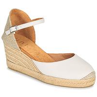 Pantofi Femei Sandale  Unisa CACERES Alb