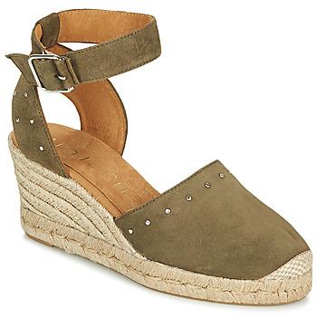 Pantofi Femei Sandale  Unisa CLIVERS Kaki