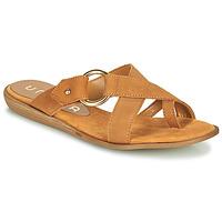 Pantofi Femei  Flip-Flops Unisa ADRIEL Camel