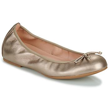 Pantofi Femei Balerin și Balerini cu curea Unisa ACOR Șampanie