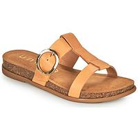 Pantofi Femei Papuci de vară Unisa CIVETA Camel