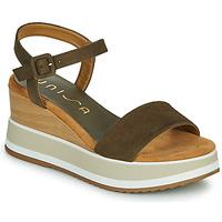 Pantofi Femei Sandale  Unisa KOLLA Kaki