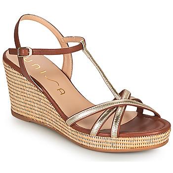 Pantofi Femei Sandale  Unisa LLINAR Auriu