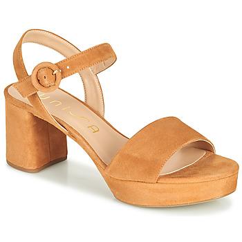 Pantofi Femei Sandale  Unisa NENES Camel