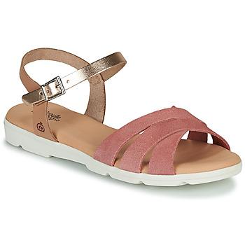 Pantofi Fete Sandale  Citrouille et Compagnie OBILOU Roz