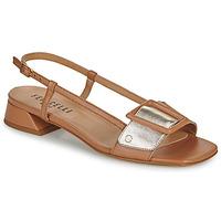 Pantofi Femei Sandale  Fericelli PANILA Camel / Auriu