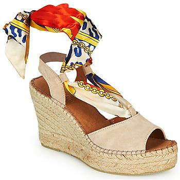 Pantofi Femei Sandale  Fericelli SERRAJE Bej