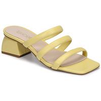 Pantofi Femei Papuci de vară Fericelli TIBET Galben