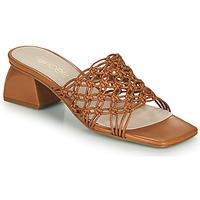 Pantofi Femei Papuci de vară Fericelli TELIA Camel