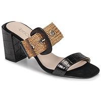 Pantofi Femei Papuci de vară Fericelli MARCO Negru